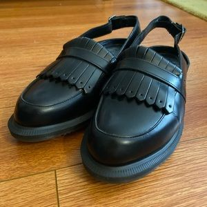 Dr. Martens Sling Back Loafers (like new)